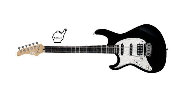 CORT G250 BK LH Guitarra eléctrica Negro Izquierda: Amazon.es ...