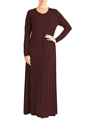 Jilbab Pianura Nuovo Signore Vestito Islamico Abaya Abaya Janisramone Kaftan Jersey Burqa nbsp;maxi Farasha Vino Donne tRqwBnz