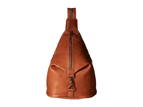 Scully Leather Sienna Convertible Sling/Backpack Shoulder Bag Brown (Sierra Backpack Leather)