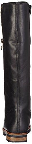 Mujer Remonte Schwarz Montar Negro de Botas para R2277 rqvUqwTX