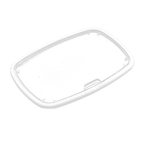 Amazon.com : Etiqueta de identificación de la etiqueta del plástico Resistencia eDealMax gota Nombre Blanca : Office Products