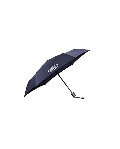 Official Land Rover Merchandise Pocket Umbrella Navy