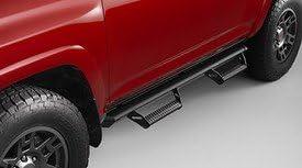 Genuine Toyota 2014 & Newer 4Runner Black Aluminum Predator Step Tubes (Running Boards)