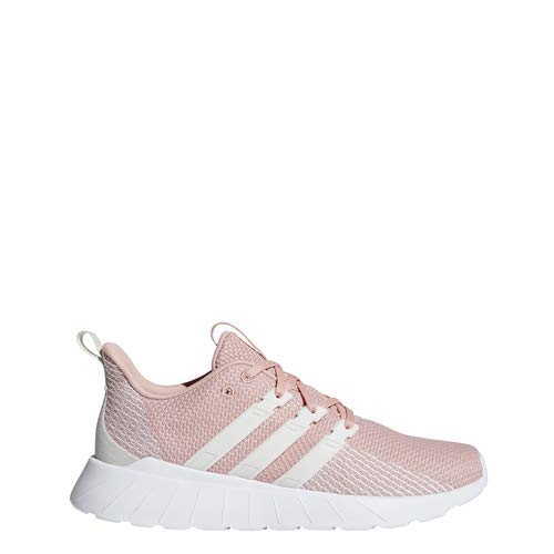 (adidas Women's Questar Flow, dust Pink raw White, 9.5 M)
