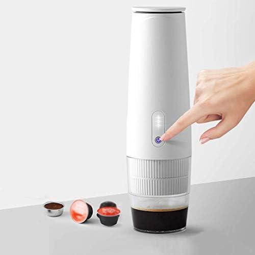 Ybzx Draagbaar koffiezetapparaat, espressomachine voor camping, één-knop-modus, compatibel met Nespresso-capsule, koffiezetapparaat voor het rijden en reizen