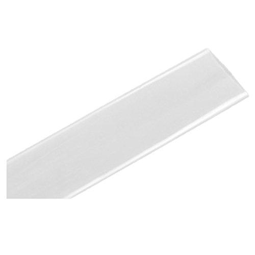 SODIAL R Tube thermoretractable Transparent Diametre de 10mm Gaine thermoretractable en Polyolefine 10m