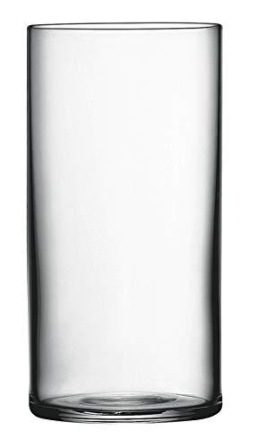 Luigi Bormioli 10822/01 Top Class 12.25 oz Beverage Glasses, Set of 6, Clear