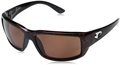 Costa Del Mar Fantail Sunglasses, Tortoise, Copper 580 Plastic Lens from Costa Del Mar