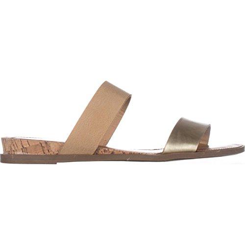 Tan Strap AR35 Rag Sandals Flat American Two Gold Easten p0UUaq
