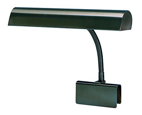 House Of Troy GP14-81 Grand Piano 14-Inch Portable Lamp, Mahogany Bronze