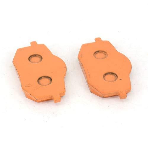 1 Paar 80 x 40 x 9,8 mm An Xin Bremsbel/äge f/ür Yamaha XV 535 Vivo 88-94