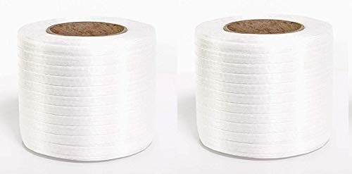 PAC Strapping P-40TCW Cord Strapping, 1,500' Length, 1/2'' Width, White (Тwo Рack) by PAC Strapping Products (Image #3)