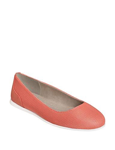 Aerosoles A2 Women's Pay Raise Ballet Flat, Coral Combo, 8 M US