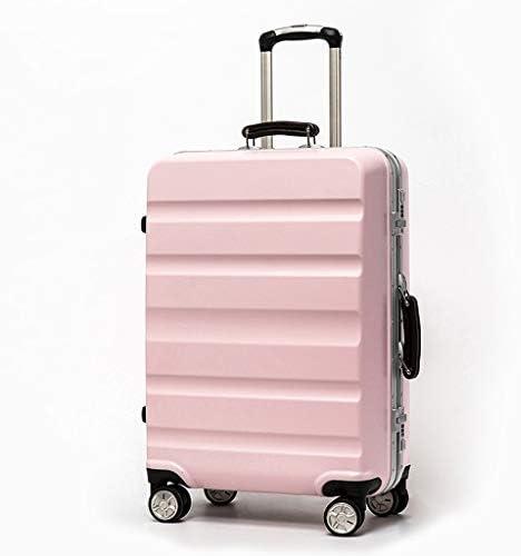 "BXDYA アルミ荷物24"" システムスーツケース、荷物キャビンハンド荷物のスーツケース (Color : C)"