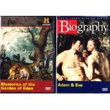 The History Channel : Mysteries of the Garden of Eden , Biography Adam and Eve : All About Genesis 2 Pack SET