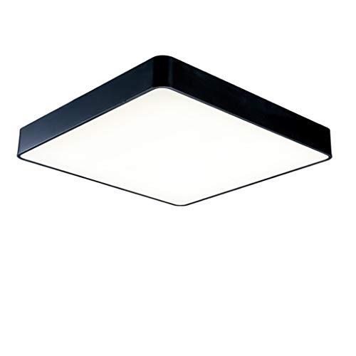 Lumière Blanche 40cm JINWELL Ultrathin Plafonnier Moderne Simplicité voitureré LED épaisseur 5cm Lampe de chambre à coucher créative Salon Restaurant Salle d'étude Restaurant Plafonnier simple (Couleur  lumière