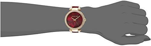5dedb8685fd Amazon.com  Michael Kors Women s Parker Red and Gold Watch MK6427  Watches