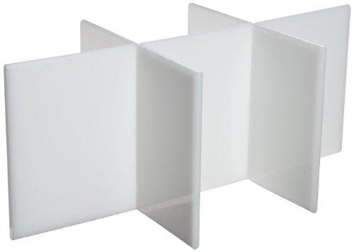 Bel-Art Six Compartment Divider Insert for Polyethylene Bottle Carrier F16963-0000 (F16962-0006)