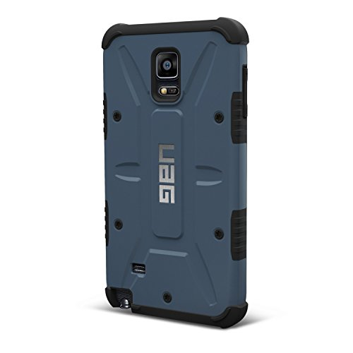 UAG Samsung Galaxy Note 4 Feather-Light Composite [SLATE] Military Drop Tested Phone Case (Slate Light Four)