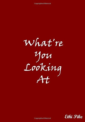 Download What're You Looking At (Red): Collectible Notebook pdf