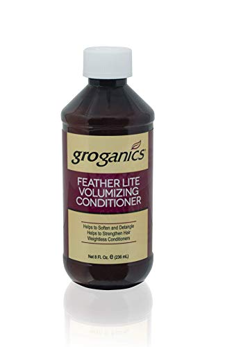 - Groganics Feather Lite Volumizing Conditioner, 8 Ounce (Pack of 4)