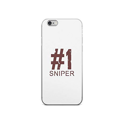 iPhone 6 Case iPhone 6s Case Clear Anti-Scratch Sniper, Design Cover Phone Cases for iPhone 6/iPhone 6s, Crystal Clear