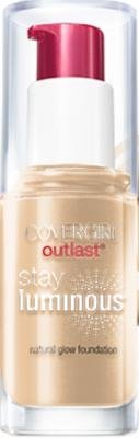 CoverGirl Outlast Stay Luminous Medium Beige 842 Natural Glow Foundation -- 2 per case.