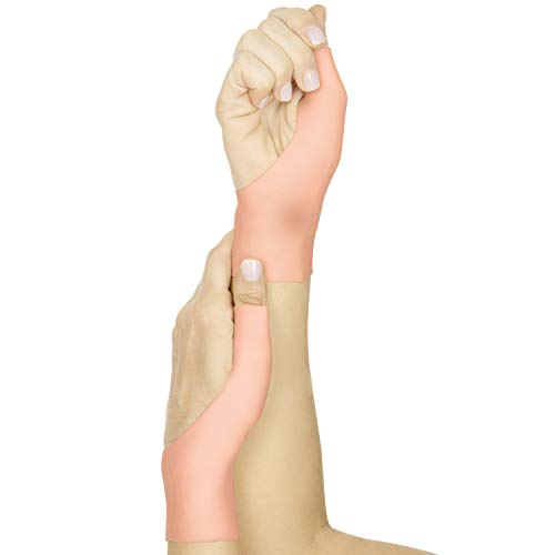 Vive Gel Thumb Wrist Brace (Pair) - Spica Support Cool Wrap for Arthritis Dequervains Tenosynovitis