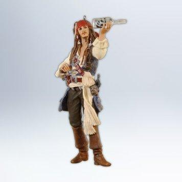(Hallmark 2012 Pirates of the Caribbean - Jack Sparrow - On Stranger)