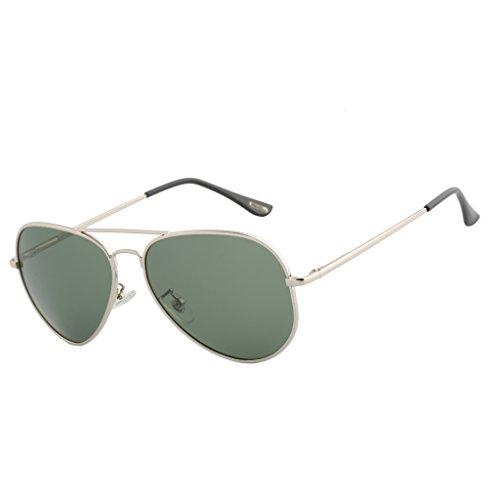 Bertha Premium Full Mirrored Aviator Sunglasses w/ Flash Mirror Lens Polarized for Men & Women with Eyeglasses Case 805 Dark - Sale 2 Eyeglasses For 1