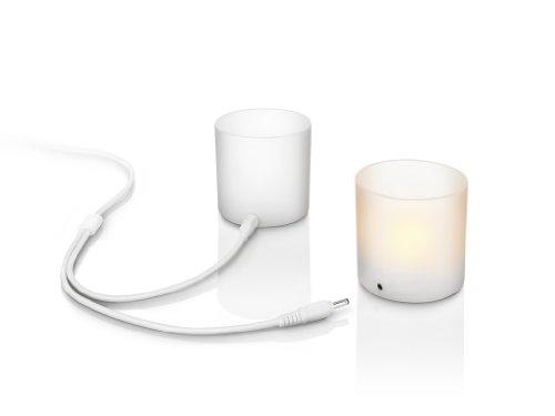 Philips Lámpara de Mesa 7007631PH Iluminacion 0.06 W, Blanco: Amazon.es: Iluminación