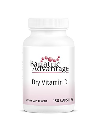 Bariatric Advantage - Dry Vitamin D Capsules, 180 Count