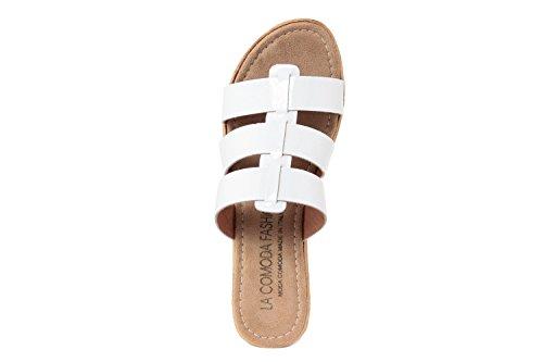 LA COMODA FASHION - Sandalias de vestir para mujer blanco Bianco