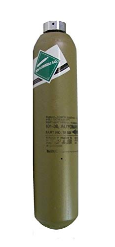 Ansul Redline R-102 Single Tank 101-30 Co2 Carbon Dioxide Replacement Cartridge for Ansul R102 Fire Suppression System Part # 15851 Spun 2019