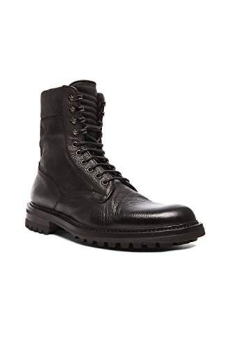 Rag & Bone Black Leather Spencer Commando Boots (42)