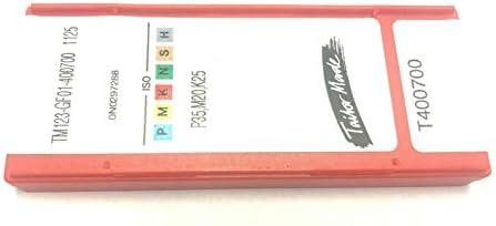 10 Wendeplatten TM123-GF01-400700 1125 Stechplatten - SANDVIK