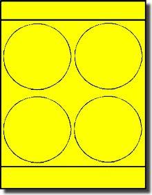 Fluorescent Neon Yellow 4