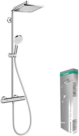 Hansgrohe 27271000 Crometta E 240 - Columna de ducha con ...