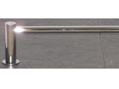 Top Knobs Hopewell Bath 24'' Single Towel Rod - HOP8PC - Polished Chrome by Level USA