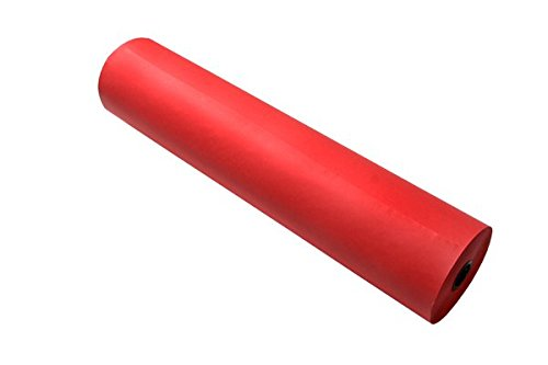 Red Medium Weight (RiteCo 21304 Dual-Surface Paper Art Roll, Medium Weight, 48