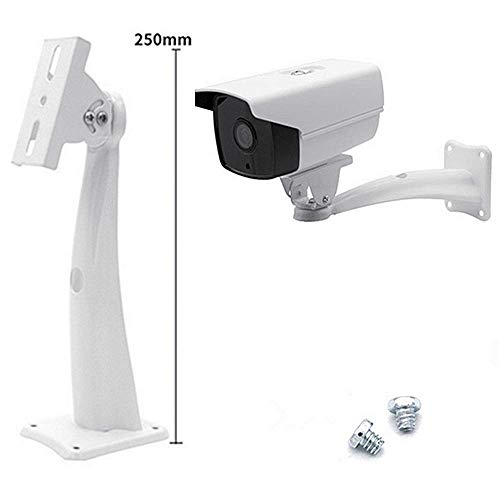 - Siyu Xinyi Surveillance Camera Indoor and Outdoor Universal Bracket, The Bracket for The Surveillance/Security Camera can be Adjusted to be Fixed in The Room on The Wall(Ivory White)
