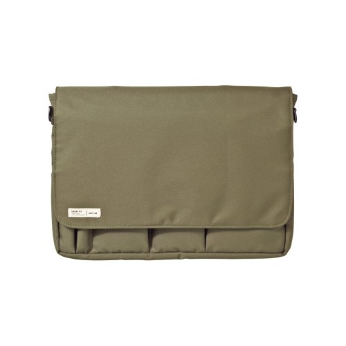 LIHIT LAB Carrying Pouch (Laptop Sleeve), Olive, 9.4 x 13.4 Inches (A7577-22)