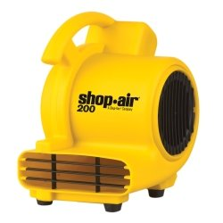 Portable 200 CFM Air Mover Fan Tools Equipment Hand Tools by Shop Vac