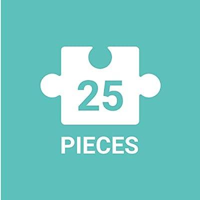 Mudpuppy Space Explorers Jumbo Puzzle (25 Piece): Mudpuppy, Ho, Jannie: Toys & Games