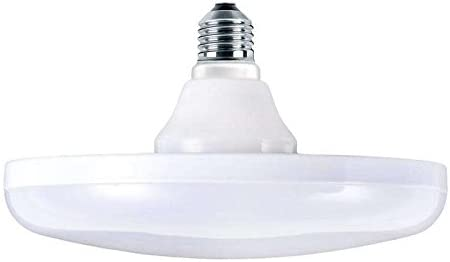 Bombilla LED E27 UFO 50W, SMD5730, Blanco cálido
