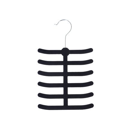 UPC 643462001156, Velvet Tie and Belt Non-Slip Hanger (Set of 2)