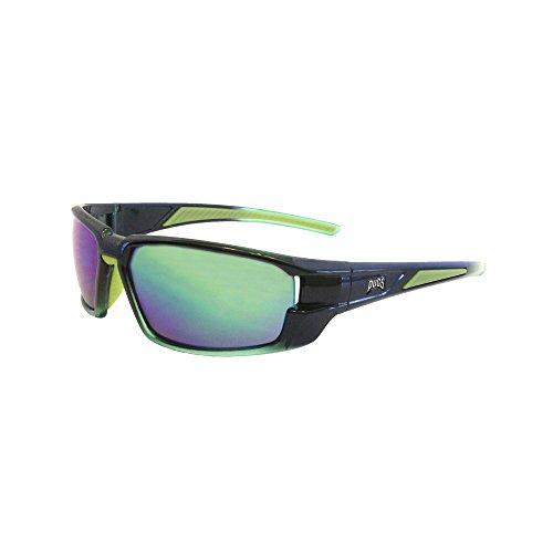 Crystal Green Sunglasses (Pugs Premium Sport Sunglasses (Crystal Green, Green Mirror))