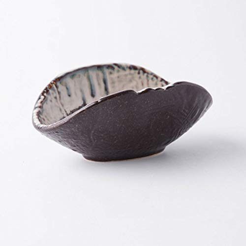 Stoneware Table - Snack Dip Bowls Dishware Creative Personality Fruit Salad Bowl Stoneware Tableware Speciality Restaurant Mixing Bowl Shaped Shell Bowl Household Dish kitchen (Size : 24cm/9.4in)