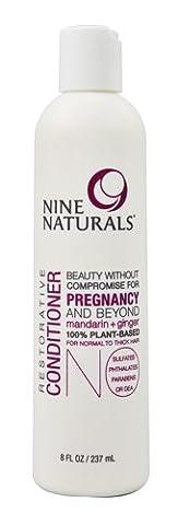 Nine Naturals Restorative Conditioner Mandarin plus Ginger -- 8 fl oz - 2pc (Nine Naturals Conditioner)