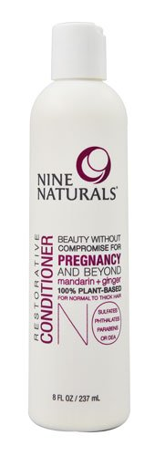 Nine Naturals Restorative Conditioner Mandarin plus Ginger -- 8 fl oz - 3PC